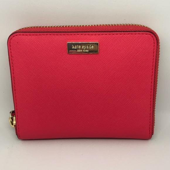 b8e40158e060 kate spade Handbags - Kate Spade Laurel Way Darci Zip Around Med Wallet